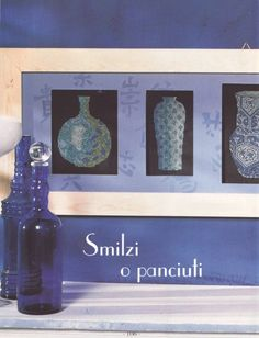 Oriental Vases of Oriental, Asia, Cross Stitch, Frame, Home Decor, Picture Frame, Punto De Cruz, Decoration Home, Room Decor