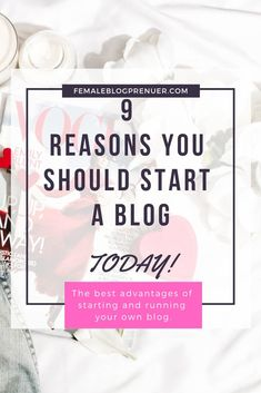 Ever thought of starting a blog but were not sure exactly why and what the benefits of running one are? Well, here are 9 reasons you should consider starting and running your own blog. A comprehensive list of the benefits and advantages existing bloggers don't want you to know about.  #blog #blogging #blogger #beginner #blogpreneur #travelblog #lifestyleblog #vlogger #vlogging #vlog #wordpress #contentwriting #writer #entrepreneur #makemoneyonline