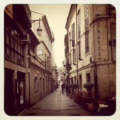 """julio-agosto 2011: todas las madrugadas en esa esquina <3 / """"Rúa Nova (Lugo)"""""""