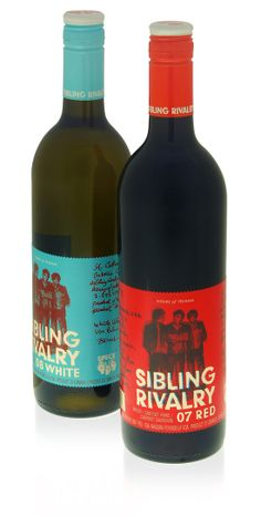 sibling rivalry - nothing tastes better after a long day or a terrible fight