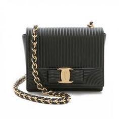 30% off Salvatore Ferragamo - Bag Mini Ginny Nero - $875 #salvatoreferragamo #ferragamo #bag