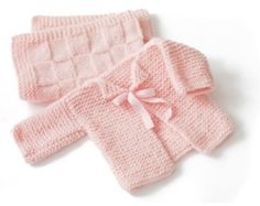 Glamour Babys First Cardigan Pattern (Knit)