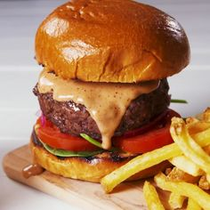 Confession: It's been a long time since we've been to Red Robin, but we'll always remember their campfire sauce. A mixture of mayo and barbecue sauce, it tastes good on literally everything. Burgers, fries, onion rings, tater tots, shrimp ... the possibilities are endless. #easyrecipe #sauce #burger #condiment #campfiresauce