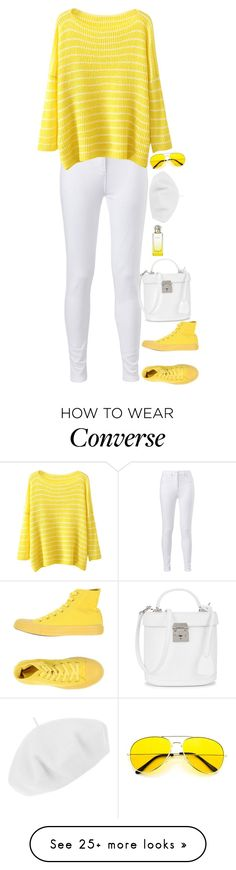 """""""Untitled #9198"""" by miki006 on Polyvore featuring Betmar, Hermès, Converse and Mark Cross"""