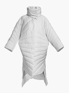 Oversize white coat SEAL Hana, Seal, Winter Jackets, Fashion, Winter Coats, Moda, La Mode, Harbor Seal, Fasion