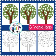 This Apple Tree ABC Match Preschool Printable is a great way for preschoolers to practice their matching their alphabet letters. Autumn Activities, Preschool Activities, Number Activities, Do A Dot, Apple Theme, Abc Games, Tree Crafts, Matching Games, Lower Case Letters