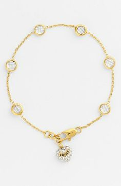 Juicy Couture 'Garden Party' Station Bracelet available at #Nordstrom
