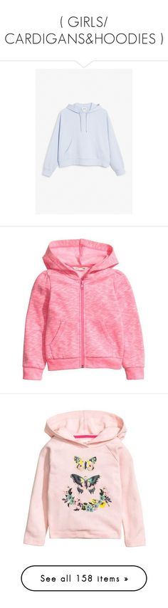 """( GIRLS/ CARDIGANS&HOODIES )"" by monstercrazzylove ❤ liked on Polyvore featuring kids, tops, hoodies, sweaters, sweatshirt, pink pullover, red hooded sweatshirt, hooded pullover, pullover hoodies and pink pullover hoodie"