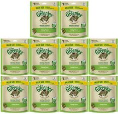GREENIES Feline Dental Treat for Cats Catnip Flavor ** Learn more by visiting the image link. (This is an affiliate link) Cat Supplies, Cat Treats, Ben And Jerrys Ice Cream, Dental, Kitty, Learning, Pets, Image Link, Bag