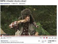 A hunter shoots a bear » http://www.youtube.com/watch?v=4ba1BqJ4S2M by www.buzzman.fr