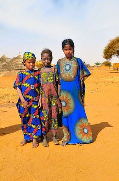 "Africa | ""Girls of the Sahel"" 