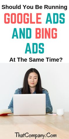Should You Be Running Google Ads And Bing Ads At The Same Time? This is a question that we continue to receive from new clients and even existing clients. Because Google is such a power house and mostly recognized name, many people believe that all they need is Google Ads as their driving force of sales, leads, or conversion points. #ads #adwards #google #ppc #seo #smm #internetmarketing #digitalmarketing Online Marketing Strategies, Digital Marketing Strategy, Google Traffic, Search Ads, Website Optimization, Driving Force, Search Engine Marketing, Google Ads, Internet Marketing