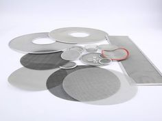There are a few extruder sheets with different shapes and sizes.