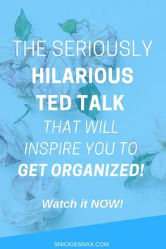 Looking for inspiration to KICKSTART your day? Tim Urban's awesome TED Talk addresses procrastination at it's finest, and details the powerful reasons why you should focus on getting organized and getting going. #GetOrganized #Organization #Motivation #Inspiration #TEDTalk #TimUrban #Procrastination #Procrastinator #Hilarious #Prioritize #Success #BeSuccessful #HowToBeSuccessful