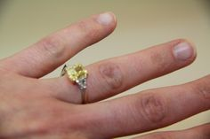 Propose with this stunning estate piece!