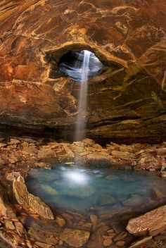 The Glory Hole in Ozark National Forest, Arkansas, USA The Glory Hole Trail One of the most famous waterfalls in Arkansas is the Glory Hole. The trail to the Glory Hole is in the Ozark Natio… Places To Travel, Places To See, Beautiful World, Beautiful Places, Wonderful Places, Amazing Places, Places Around The World, Around The Worlds, Ozark National Forest