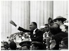"""I Have A Dream"" — Today marks the 54th anniversary of Martin Luther King's historic speech during the March on Washington. 📷 Bob Adelman, 1963"