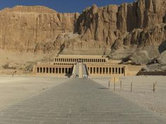Temple of Hatshepsut - Luxor Tours & Excursions http://www.maydoumtravel.com/Egypt-Day-Tours-Excursions-and-sightseeing-tours/6/0/