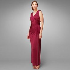 Rose minueta full length dress - Bridesmaid dresses - Dresses - Women -