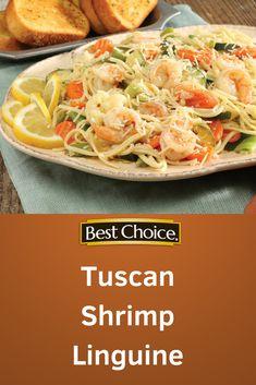 Tuscan Shrimp Lingui