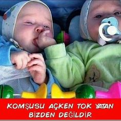 Komik sözler, resimli komik sözler, komik sözler indir, Kids Kiss, Funny Times, Cute Baby Pictures, Funny Happy, Kids And Parenting, Cool Words, Cute Babies, Haha, Funny Quotes