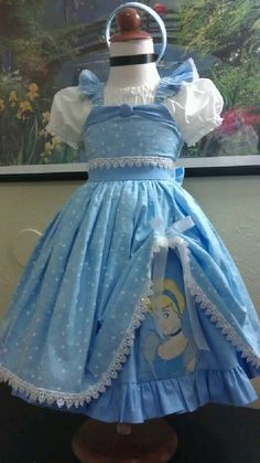 Cinderella inspired sundress by Littleonesewings on Etsy, $80.00