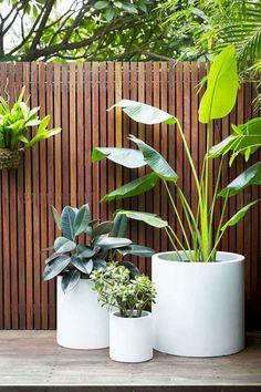 Small backyard patio, Backyard patio designs, Patio plants, Outdoor landscaping,… - Home & DIY Backyard Barn, Backyard Patio Designs, Small Backyard Landscaping, Landscaping Ideas, Backyard Ideas, Cozy Backyard, Fence Ideas, Deck Patio, Modern Backyard