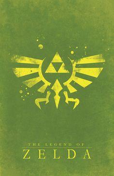 The Legend of Zelda artwork by Dylan West.