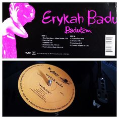 Sharing a personal favorite today. This woman is a force! Love everything about her and the music she makes. Erykah Badu's debut album Baduizm was critically acclaimed when it was first released in 1997. Some compare her to Billie Holiday and I can see why... Her Neo-Soul flavors are just amazing!  #nowplaying #nowspinning #erykahbadu #baduizm #1997 #record #vinyl #soul #neosoul #randb #wax #hiphop by egarcia895