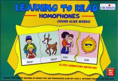 Learning to Read Homophones