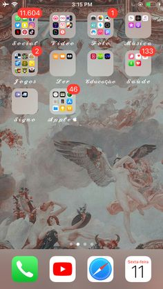 𝐟𝐨𝐥𝐥𝐨𝐰 𝐦𝐲 𝐩𝐢𝐧 . Whats On My Iphone, New Iphone 8, Iphone Wallpaper Cat, Homescreen Wallpaper, Organize Apps On Iphone, Iphone App Layout, Phone Organization, Tumblr Iphone, Apple Products