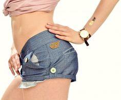 blue shorts nosamurai.com