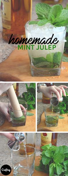 Serve guests refreshing mint juleps at Mother's Day brunch. Get the classic recipe at Craftsy!