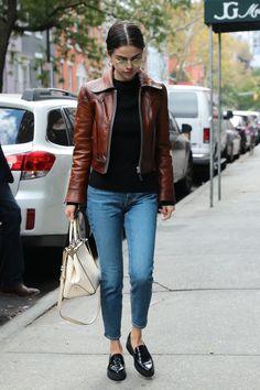 September 30: Selena out in New York, NY