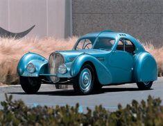 This 1936 Bugatti Type 57 SC Atlantic Coupe won the 2017 Chantilly Arts & Elégance Richard...