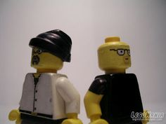 The Mythbusters as Legos