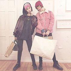 Kiko and Yuka went shopping at @funktiquetokyo ~^^