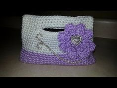 CROCHET How To #Crochet Little Girls Handbag clutch Purse crochet TUTORIAL #67 - YouTube