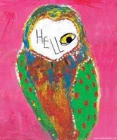 헬로우 부엉이 hello,owl