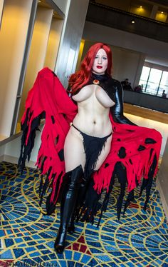 "bellechere as Goblin Queen, from ""The Uncanny X-Men,"" at DragonCon 2013."