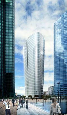 Le projet de tour de bureaux Alto. (Interfaces et SRA Architectes.)