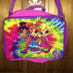 Vintage Lisa Frank original messenger bag Vintage Lisa Frank original messenger bag. Decent condition flaws pictured please feel free to ask questions I will happily answer. Price firm these are rare/htfmedium regular messenger bag size. Lisa Frank Bags Crossbody Bags
