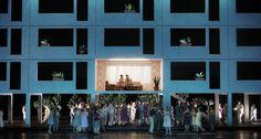 Carmen. Oper Leipzig. Scenic and lighting design by Klaus Grünberg. 2009