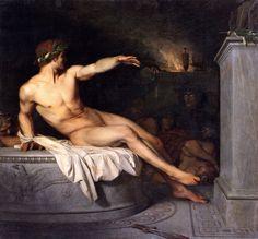 "thisblueboy: "" Alexandre Cabanel, Orestes, 1846, Musee des Beaux Arts, Beziers, France """