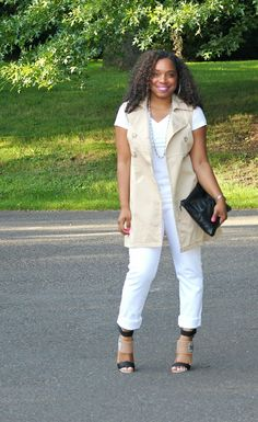 Style & Poise-Trench Vest
