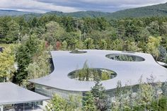 Hiroshi Senju Museum, Karuizawa, Japan. Architect Ryue Nishizawa.