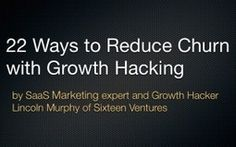 Ever wonder how to apply Growth Hacking thinking to reducing churn and increasing retention? Here are 22 ways to make that happen. Growth Hacking, Case Study, How To Apply, Marketing, Training, Work Out, Education, Exercise, Work Outs