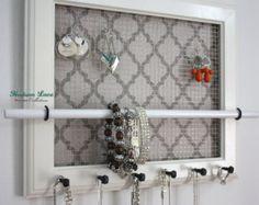 Jewelry Organizer Engraving Available Jewelry Holder par HudsonLace