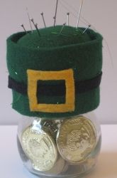 Activities: Craft a Leprechaun Hat Pin Cushion!