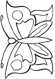 want to fly away butterfly coloring page - Easy Coloring Sheets